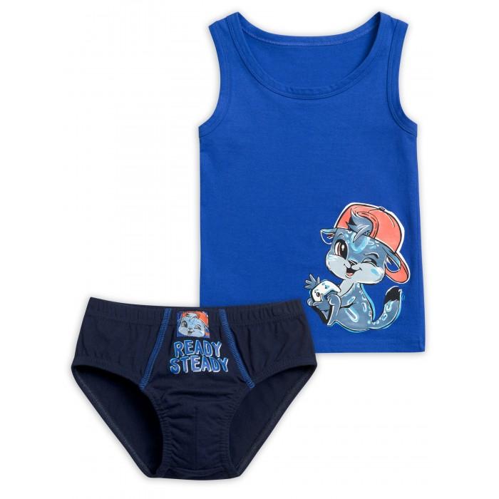 Купить Белье и колготки, Pelican Комплект для мальчиков майка и трусы