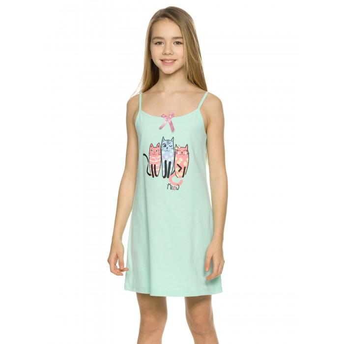 ночные сорочки pastilla ночная сорочка ваниль цвет голубой xl Домашняя одежда Pelican Ночная сорочка для девочек WFDN4229U