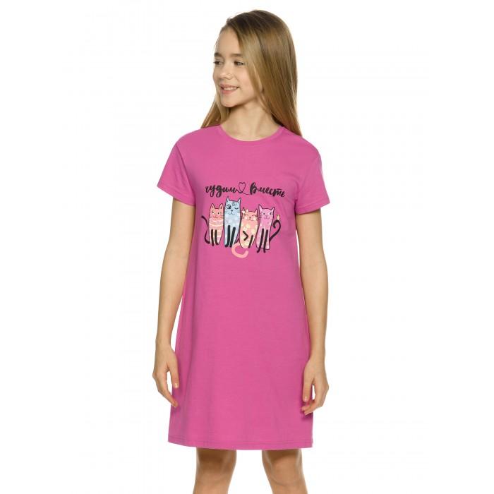 ночные сорочки pastilla ночная сорочка ваниль цвет голубой xl Домашняя одежда Pelican Ночная сорочка для девочек WFDT4229U