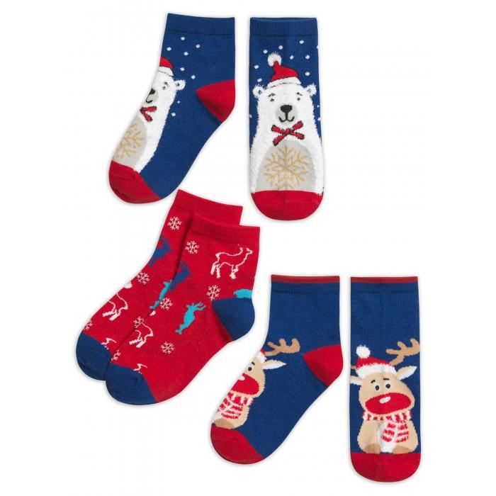 Белье и колготки Pelican Носки для мальчика New Year 3 пары BEG3048(3)