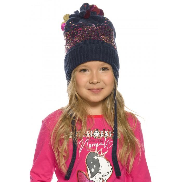 Шапки, варежки и шарфы Pelican Шапка для девочек Derzkaya\1
