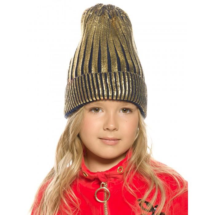 Шапки, варежки и шарфы Pelican Шапка для девочек Derzkaya\2
