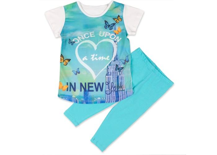Комплекты детской одежды Pelops Комплект (туника и лосины) In New York для девочки