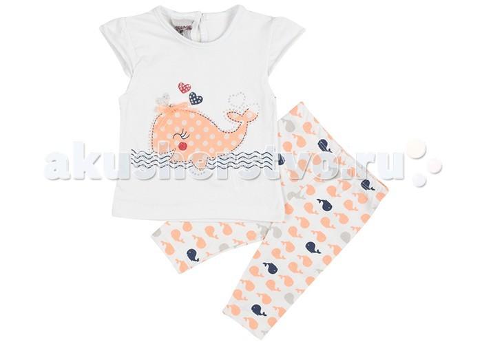 Комплекты детской одежды Pelops Комплект (туника и лосины) Кит для девочки