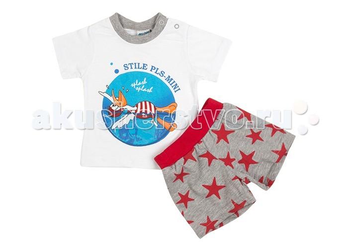 Комплекты детской одежды Pelops Комплект (шорты и футболка) Pls-mini для мальчика