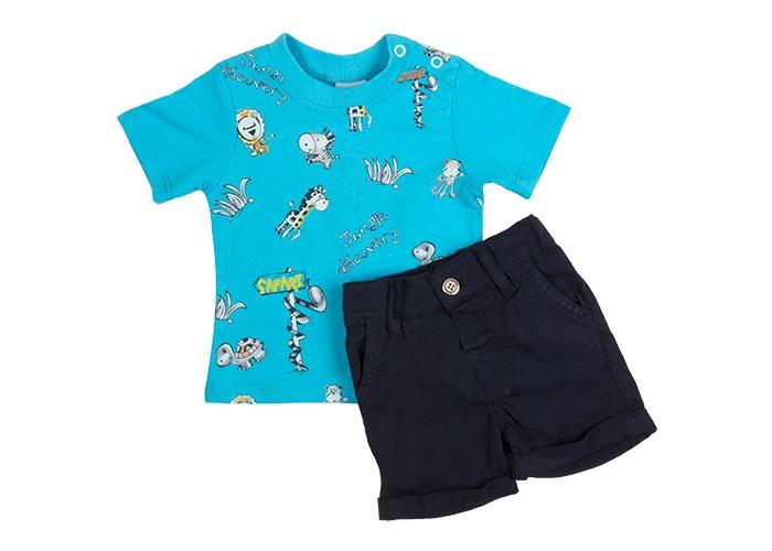 Комплекты детской одежды Pelops Комплект (шорты и футболка) Safari для мальчика комплекты детской одежды rodeng комплект для мальчика r1138