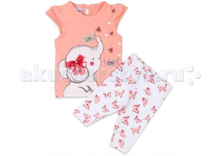 Комплекты детской одежды Pelops Комплект (лосины и футболка) Слоненок для девочки