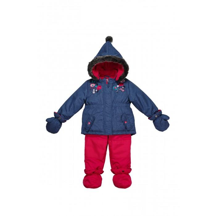 Peluchi & Tartine Комплект для девочки (Куртка и брюки с пинетками и варежками)