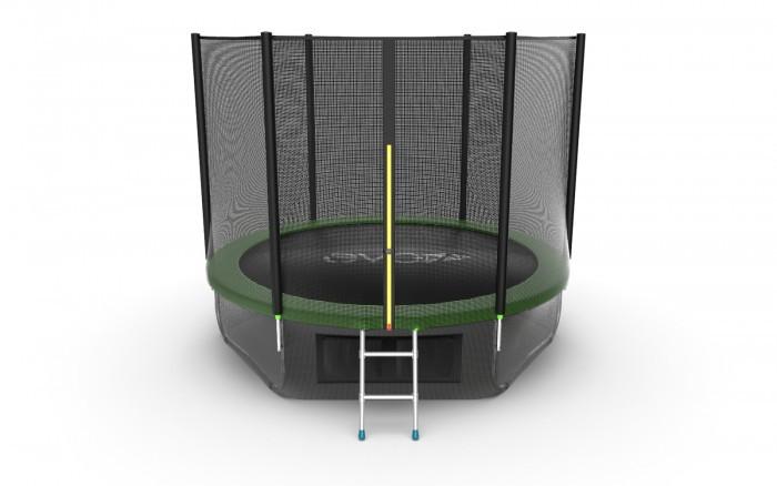 EVO Jump Батут External с внешней сеткой и лестницей 10ft + нижняя сеть