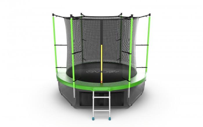Детские батуты EVO Jump Батут Internalс внутренней сеткой и лестницей 8ft + нижняя сеть
