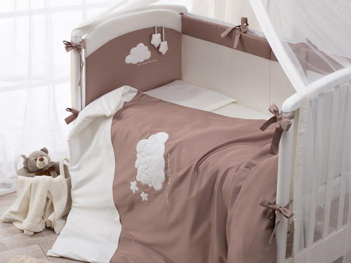 Купить Комплекты в кроватку, Комплект в кроватку Perina Бамбино из сатина (6 предметов)