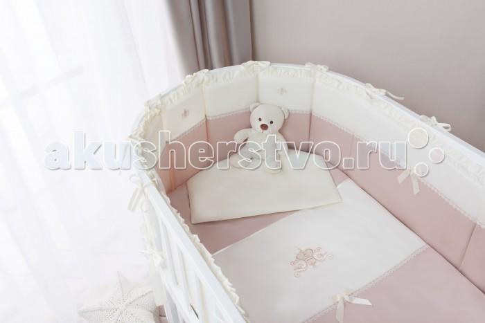 Постельные принадлежности , Комплекты в кроватку Perina Эстель Oval (7 предметов) арт: 508076 -  Комплекты в кроватку