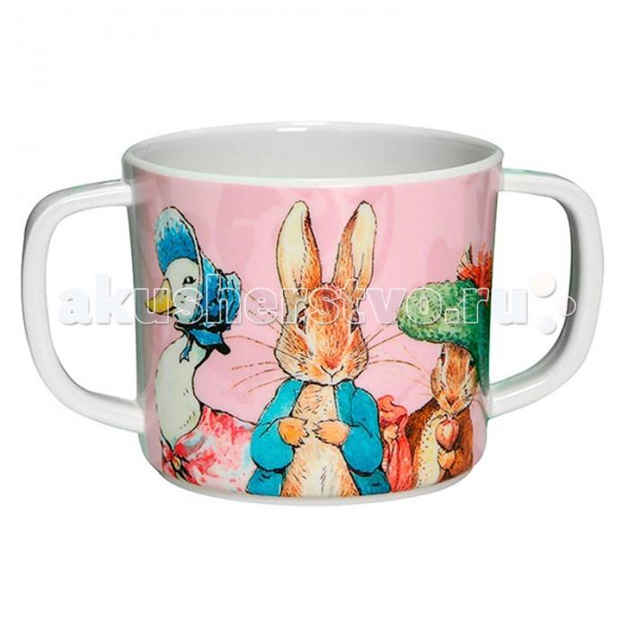 Посуда Petit Jour Кружка с двумя ручками Peter Rabbit peter rabbit nurser rhyme time