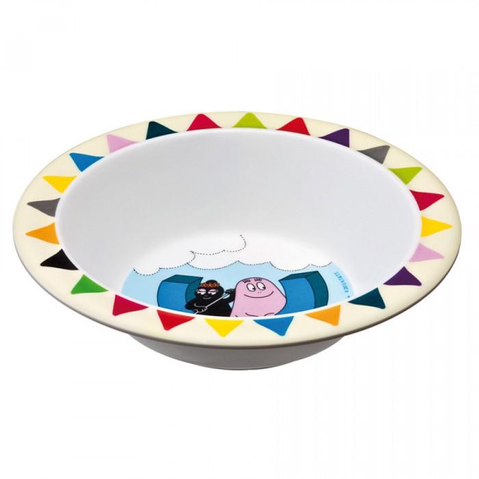 Посуда Petit Jour Тарелка глубокая Barbapapa 16.5х4 см посуда petit jour тарелка petit prince
