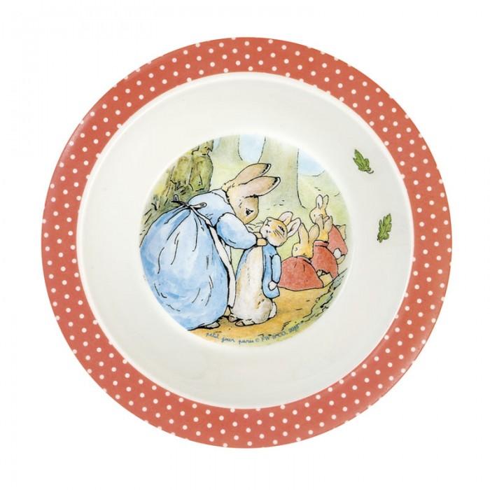 Посуда Petit Jour Тарелка глубокая Peter Rabbit посуда petit jour тарелка petit prince