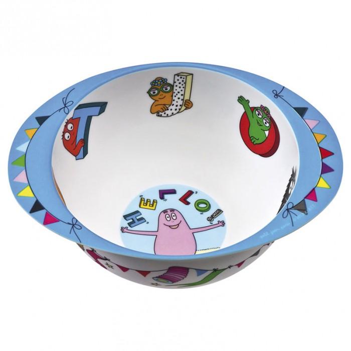 Купить Посуда, Petit Jour Тарелка глубокая с ручками Barbapapa