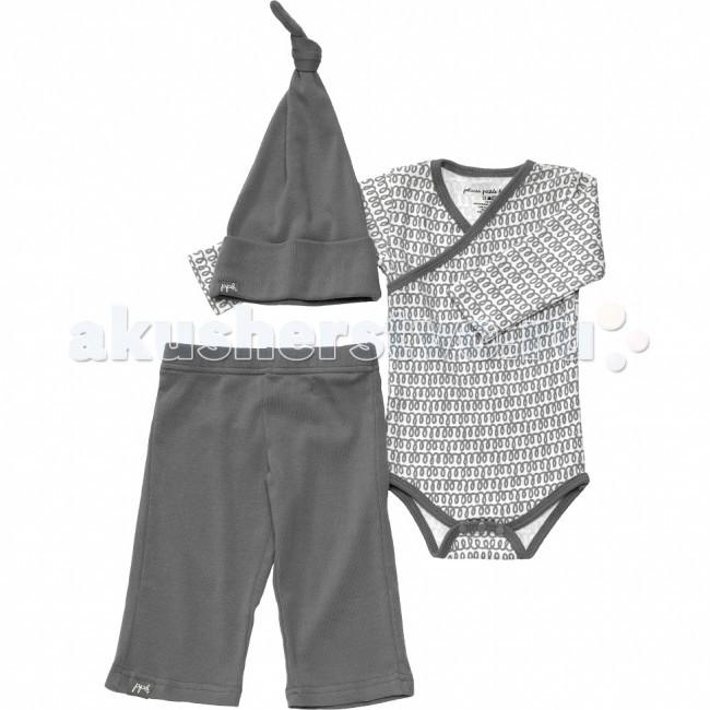Комплекты детской одежды Petunia Pickle Bottom Комплект для новорожденных Social Set