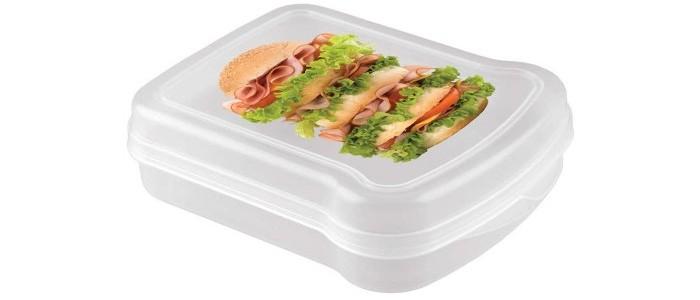 Контейнеры для еды Phibo Контейнер с декором для бутербродов контейнеры для еды phibo контейнер с декором super lock 1 5 л