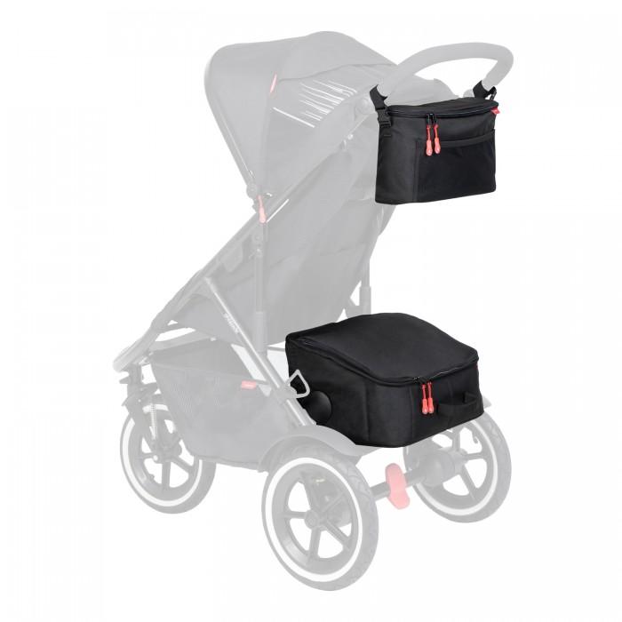 Купить Аксессуары для колясок, Phil&Teds Комплект термо-корзина и термо-сумка на ручку Igloo Inline Storage