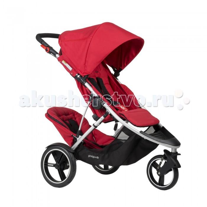 Детские коляски , Коляски для двойни и погодок Phil&Teds Коляска для погодок Dash + DK арт: 111052 -  Коляски для двойни и погодок