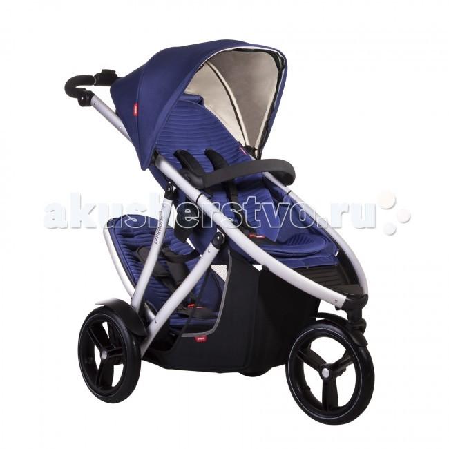 Детские коляски , Коляски для двойни и погодок Phil&Teds Коляска для двойни и погодок Vibe 3 + DK арт: 14488 -  Коляски для двойни и погодок