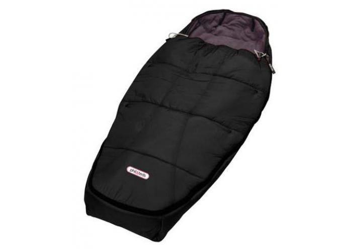 Демисезонный конверт Phil&amp;Teds Спальный мешок 3 в 1Спальный мешок 3 в 1Конверт (спальный мешок) phil&teds подходит для любого типа коляски фил энд тедс.  Идеален для городских прогулок в холодное время года и загородных путешествий.    Водонепроницаемая обивка.   Внутренняя часть из очень мягкого флиса.   Верхняя часть закатывается на 50% или снимается.   Предусмотрены отверстия под ремни безопасности.   Подходит ко всем коляскам phil&teds.   Можно стирать в стиральной машинке.  Размер: 100х50х4 см Вес: 700 г  В комплекте: спальник, мешок для хранения.<br>