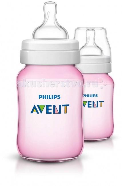 Аксессуары для кормления , Бутылочки Philips Avent для кормления 2 шт. 260 мл арт: 58427 -  Бутылочки