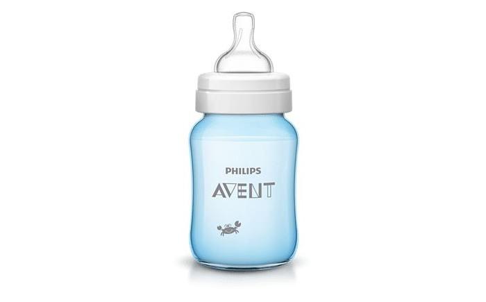 купить Бутылочки Philips Avent Classic+ с рисунком 260 мл недорого