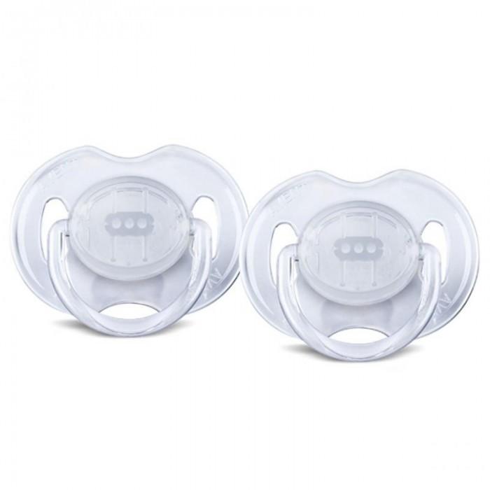 Пустышка Philips-Avent силиконовая Классика 6-18 мес. 2 шт