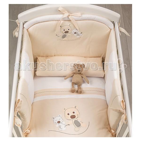 Комплекты в кроватку Picci Bibi (3 предмета) аппликация picci одеяло вязаное для колыбели picci living