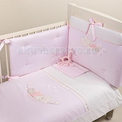 Картинка для Комплект в кроватку Picci Mimmi (3 предмета) аппликация