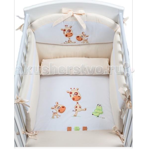 Комплект в кроватку Picci Pepe (3 предмета) аппликацияPepe (3 предмета) аппликацияКомплект в кроватку Picci Pepe - постельное белье для Вашего малыша, выполнено по современным технологиям с использованием натуральных материалов, что характеризует качество продукции Picci. Постельное белье создаст уют Вашему малышу и подарят ему спокойные и приятные сны.  Основные характеристики: изысканный дизайн элитная коллекция комплект отличается высоким качеством пошива бельё полностью безопасно и гипоаллергенно благодаря устойчивым красителям, белье сохраняет насыщенность красок и безупречный вид после стирки материалы не раздражают нежное тельце ребенка, и не доставляют ему неудобств удобство и простота в использовании бампер предохраняет от ушибов о стенку кроватки качество материала обеспечивает лёгкость стирки и долговечность в комплекте одеяло-покрывало, наволочка, бампер  Материалы: состав - 100% хлопок одеяло-покрывало с синтепоновым наполнением изготовлен из материала самого высшего качества и только из натуральных тканей<br>