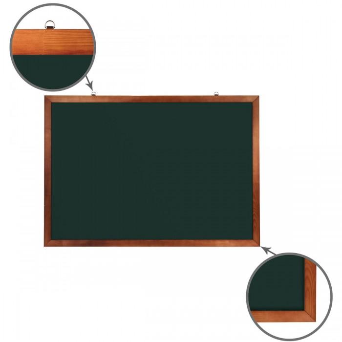 Доски и мольберты Brauberg Доска для мела магнитная 100х150 см