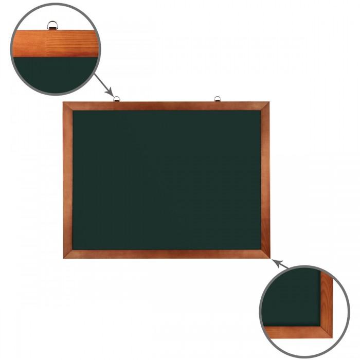 Доски и мольберты Brauberg Доска для мела магнитная 60х90 см ikea скурар доска магнитная