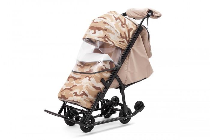 Санки-коляски, Санки-коляска Pikate Compact Military  - купить со скидкой