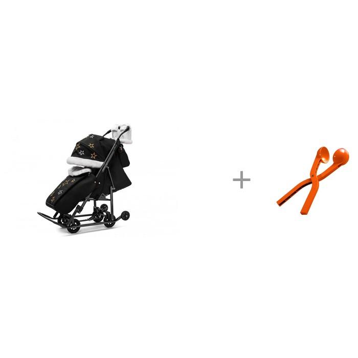 Картинка для Санки-коляска Pikate Limited Edition со снежколепом Снежкодел.рф мини 8594