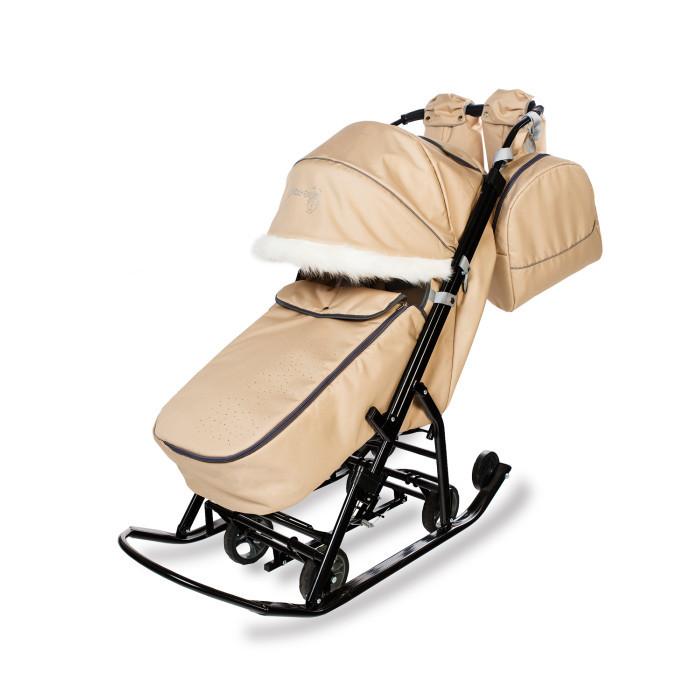 Купить Санки-коляски, Санки-коляска Pikate Снеговик