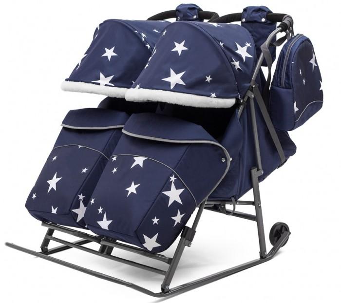 Санки-коляска Pikate Звезды Twin P2S18