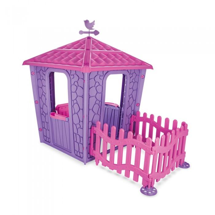 Игровые домики Pilsan Игровой домик с оградой Stone игровые домики step 2 игровой домик с горкой