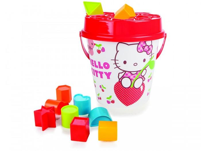 Игрушки в песочницу Pilsan Набор для песочницы Hello Kitty набор столовых приборов hello kitty