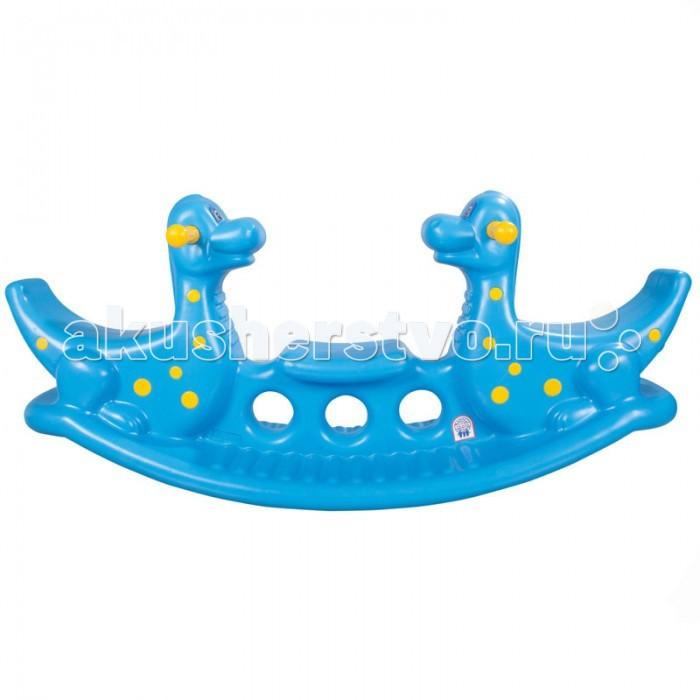 Качалки-игрушки Pilsan для троих Динозавр