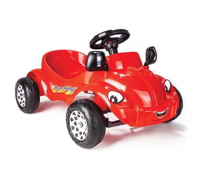 Педальные машины Pilsan Педальная машина Happy Herby pilsan педальная машина thunder