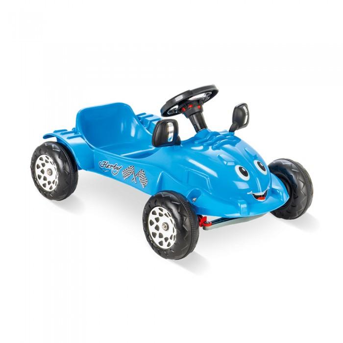 Педальные машины Pilsan Педальная машина Herby Car pilsan педальная машина thunder