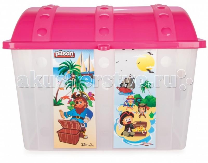 Ящики для игрушек Pilsan Контейнер для игрушек Сундук