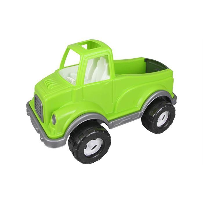 Pilsan Машинка Delta TruckМашинка Delta TruckМашинка Pilsan Delta Truck - яркая игрушка для игр на улице.   Большой грузовик привлечет детское внимание и позволит придумать много увлекательных игр. При помощи грузовика ребенок сможет активно развивать воображения, сочиняя все новые игры, а также координацию движений и восприятие цветов.   Грузовик Pilsan Delta Truck имеет большие колеса и просторный отсек, в который можно положить мелкие предметы или насыпать песок.  Максимальная нагрузка 5 кг. Эстетичный дизайн. Материал: прочный пластик. Размеры: 33х60х35 см.  Цвета в ассортименте.  Компания Pilsan начала свою историю в 1942 году. Сегодня – это компания-гигант индустрии крупногабаритных детских игрушек, которая экспортирует свою продукцию в 57 стран мира. Компанией выпускается 146 наименований продукции – аккумуляторные и педальные автомобили, велосипеды, развивающие игрушки и аксессуары для детей. Вся продукция Pilsan сертифицирована и отвечает международным стандартам качества.<br>
