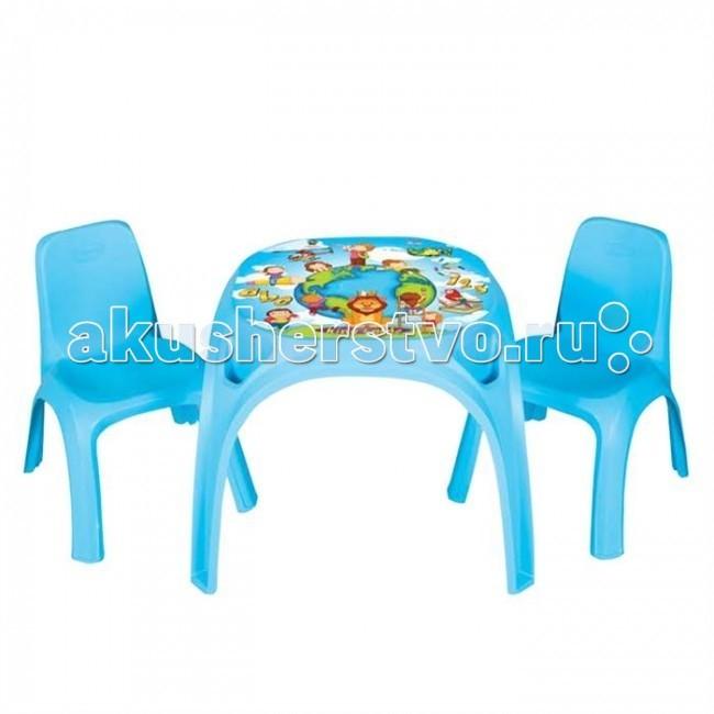 Pilsan Набор стол + 2 стула King  (03 422)