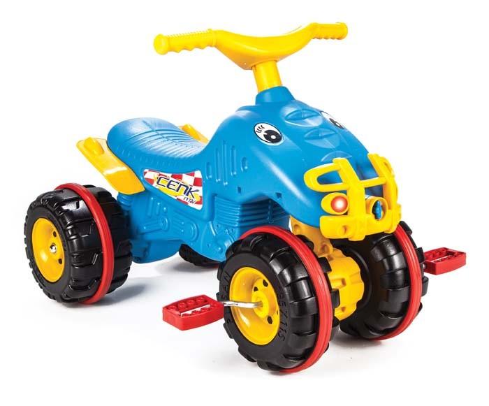 Педальные машины Pilsan Педальная машина Квадроцикл Cenk ATV pilsan педальная машина thunder
