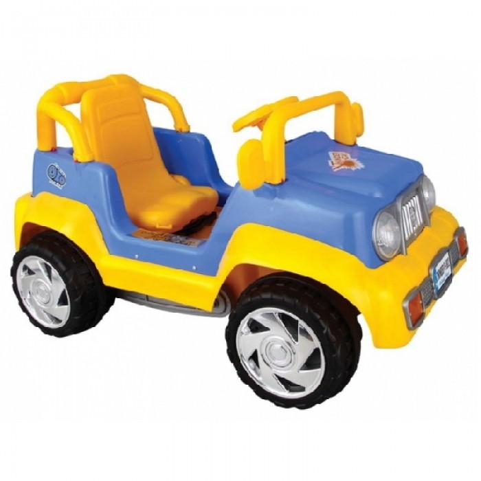 Pilsan Педальная машина ThunderПедальная машина ThunderПедальная машина Pilsan Thunder - дает ребенку необходимую физическую нагрузку, развивает координацию движения и силу ног. Игрушка выполнена из прочного экологически чистого пластика с соблюдением самых высоких стандартов безопасности.  На всех педальных машинах ведущее одно заднее колесо,остальные в свободном движении. Джип Тхундер - педальная машина на цепной передаче с сигналом и регулируемым сиденьем.<br>