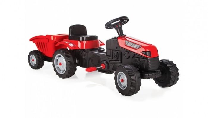 Детский транспорт , Педальные машины Pilsan Педальный трактор с прицепом Active Tractor арт: 278188 -  Педальные машины