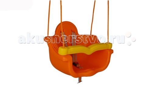 Качели Pilsan подвесные Jumboподвесные JumboPilsan Качели подвесные Jumbo - пластиковые подвесные качели для детей от 1 до 7 лет.  Особенности: Надежные канаты (диаметр 1 см) Длина регулируется Удобное и безопасное сидение с поручнем Поручень поднимается для посадки ребенка 3-х точечный ремень безопасности с пластиковой защелкой Внутренний размер: глубина 27 см, ширина 38 см,  Максимальная длина канатов 170 см  Материал: пластмасса  Размер: 40х55х41.5 (шхдхв) см  Максимальный вес: 35 кг  Среди огромного количества детских игрушек выгодно отличается продукция турецкой компании Pilsan, которая является лидером в производстве крупногабаритных игрушек для детей разных возрастов. Продукцию компании Pilsan характеризует высокое качество, недаром лозунг компании звучит как «Quality in Toys» - «Качество в игрушках». Продуманный дизайн, тестирование, обеспечение контроля на всех стадиях производства подтверждает слоган компании. Все игрушки, производимые компанией Pilsan, отличаются высоким качеством, безопасны, не содержат вредных материалов и красителей, для производства используется экологически чистый пластик.<br>